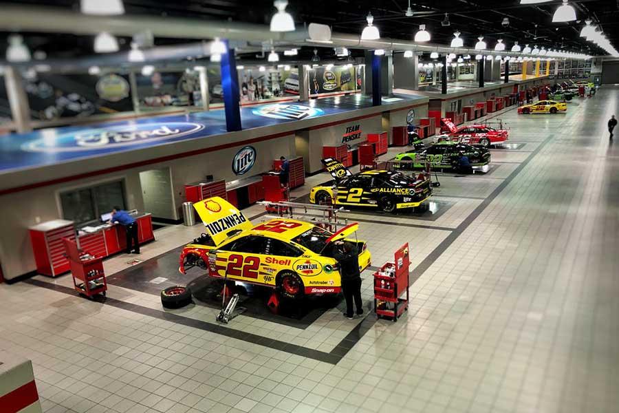 Penske Racing facility Mooresville NC