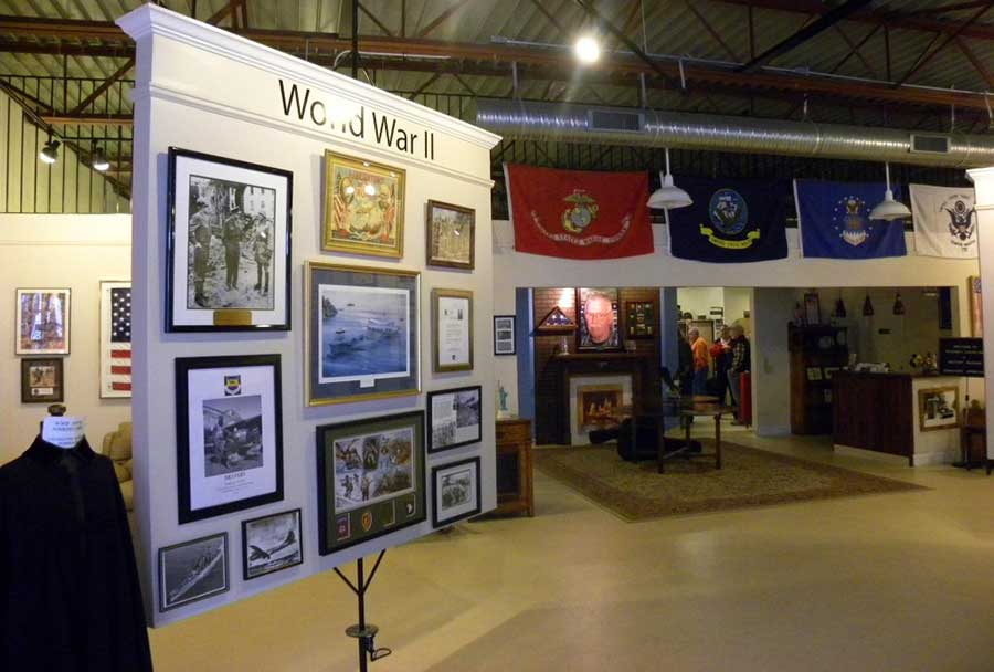 Welcome Home Veterans Museum at Richard's Coffee Shop Mooresville NC