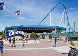 Carowinds Amusement Park Charlotte NC