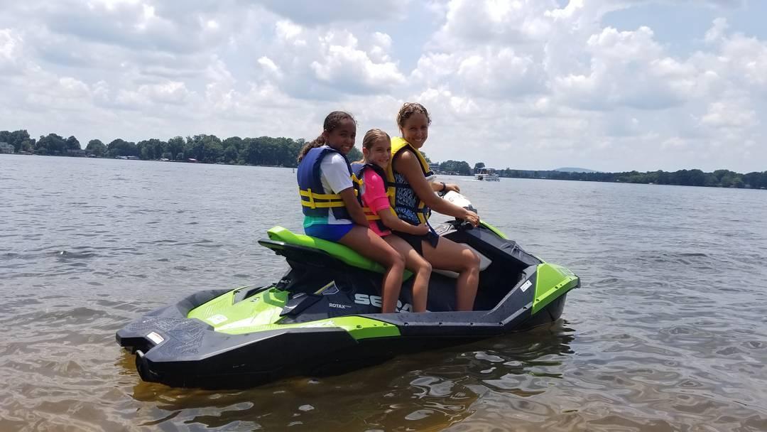 kids jetski Lake Norman Mooresville NC