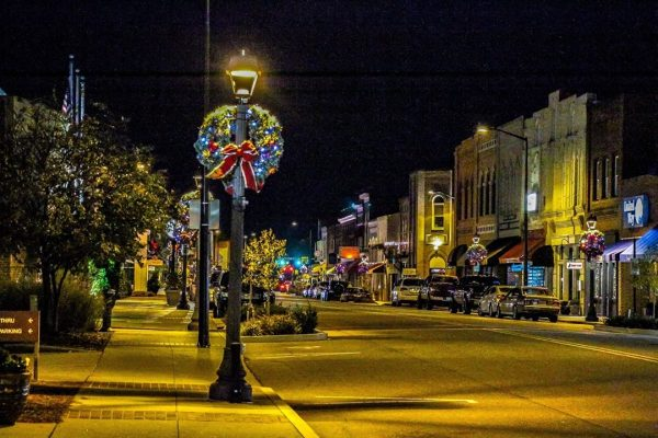 Downtown Christmas Mooresville Main Street