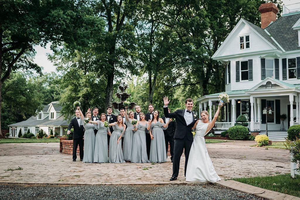 The Brawley Estate Mooresville NC Wedding Venue