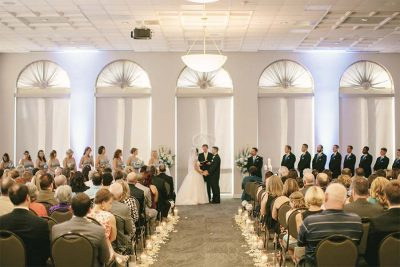Charles Mack Citizen Center Wedding Venue Mooresville NC