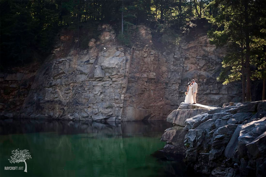 The Quarry at Carrigan Farms outdoor weddings Mooresville NC