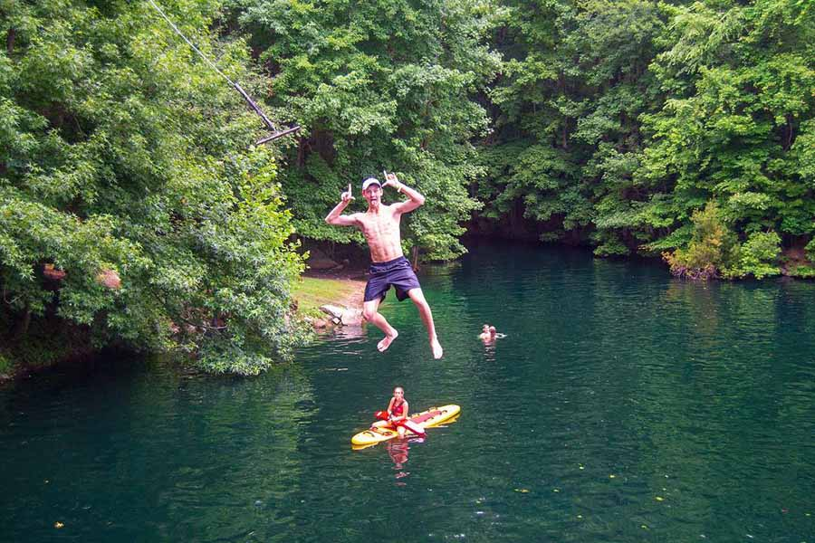 Open Swim at the Quarry at Carrigan Farms