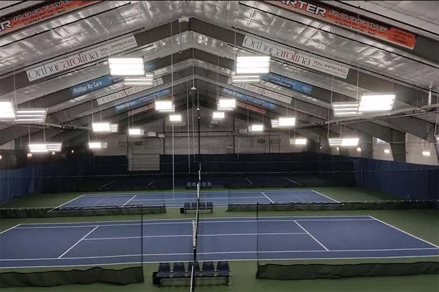 Lake Norman Tennis Center Indoor Competition Courts Mooresville NC