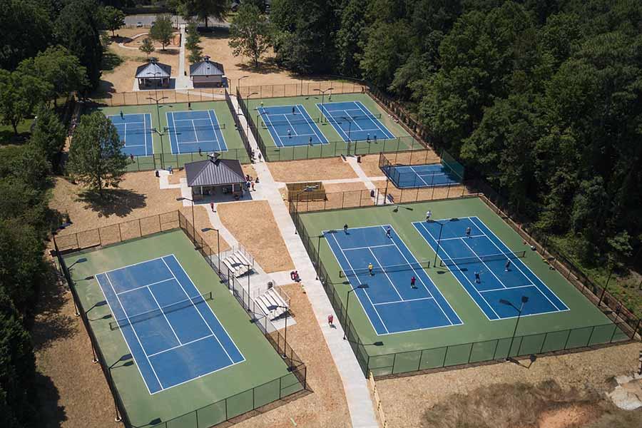 Tennis Courts Mooresville NC Edgemoor Park