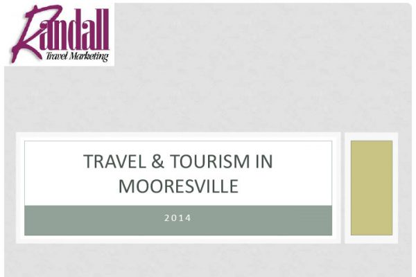 Travel and Tourism in Mooresville Report