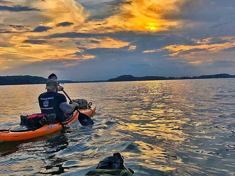 Kayak Lake Norman Mooresville NC