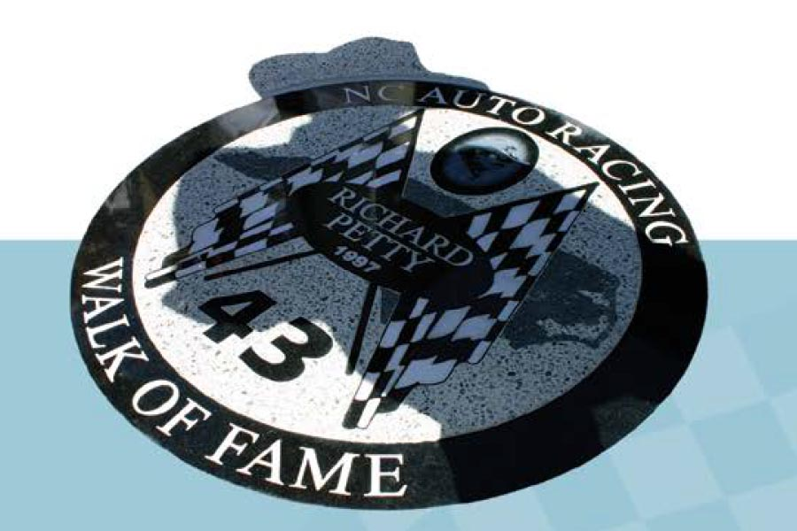 NC Auto Racing Walk of Fame brochure Mooresville