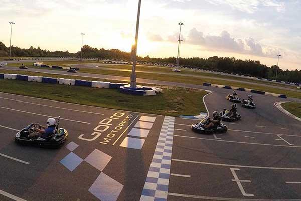 GoPro Motorplex Kart Racing Mooresville NC