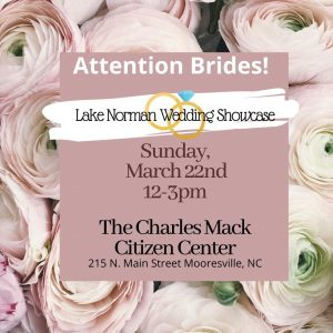 Lake Norman Wedding Showcase @ The Charles Mack Citizen Center