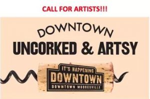 Uncorked & Artsy @ Mooresville Arts