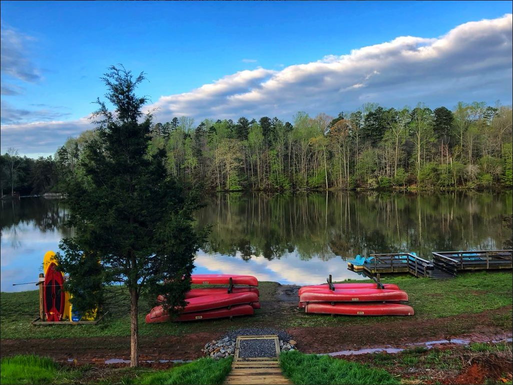 Lake Norman State Park kayak and canoe rentals