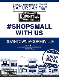 SMALL BUSINESS SATURDAY @ Downtown Mooresville Stores