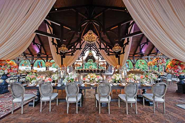 wedding pavilion at the Venues at Dale Earnhardt Inc, Mooresville Lake Norman weddings