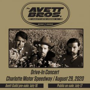 Charlotte Motor Speedway Drive-In Live Concert @ Charlotte Motor Speedway