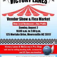 End of Summer Vendor Show & Flea Market @ Victory Lanes