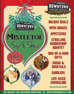 MISTLETOE SIP & SHOP @ Downtown Mooresville