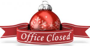 MCVB Office Closed in Observance of Christmas
