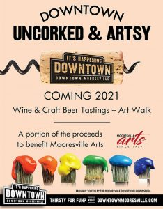 Downtown Mooresville Uncorked & Artsy @ Downtown Mooresville