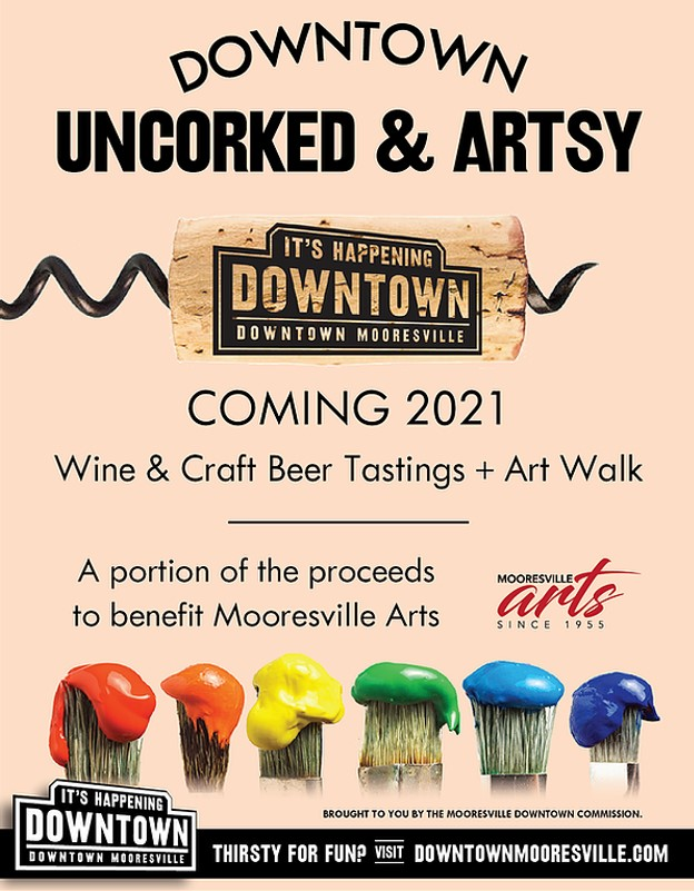 Art Gallery Events in Downtown Mooresville NC