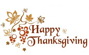 MCVB Office Closed in Observance of Thanksgiving