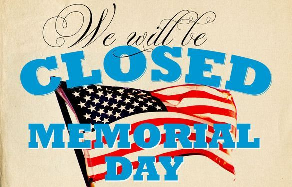 MCVB Office Closed on Memorial Day