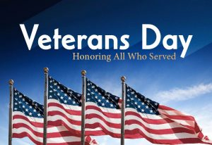 MCVB Office Closed in Observance of Veterans Day