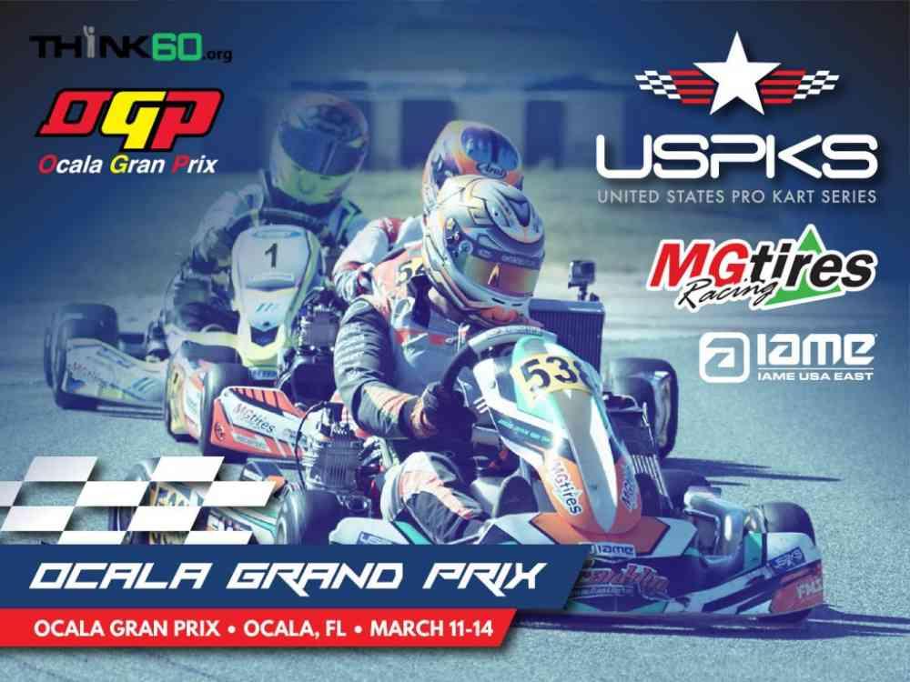 US Pro Kart Series Ocala Grand Prix at GoPro Motorplex Mooresville NC
