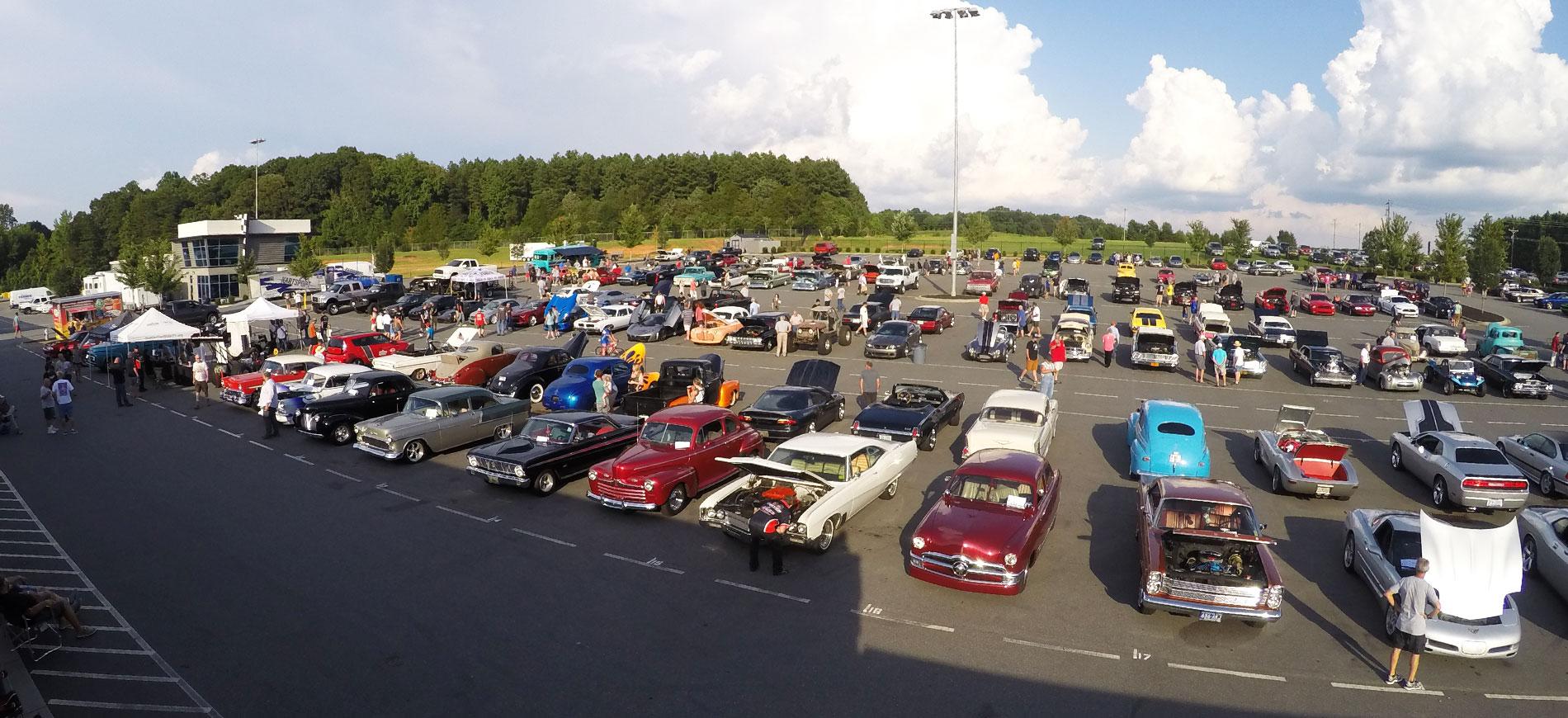 Car Show at GoPro Motorplex in Mooresville NC
