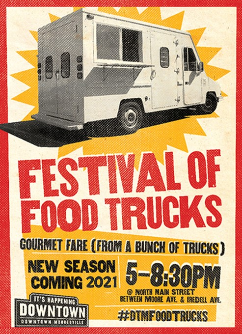 festival of food trucks 2021 downtown mooresville