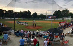 Mooresville Spinners vs. Queen City Broncos (baseball) @ Moor Park