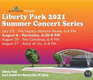 Liberty Park Summer 2021 Concert Series/The Legacy Motown Revue @ Liberty Park Amphitheater